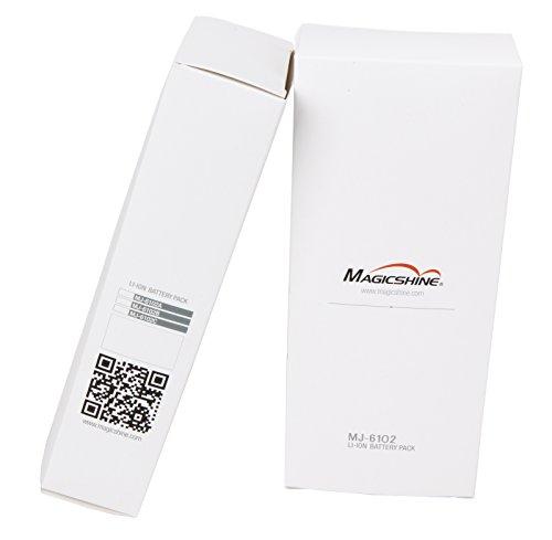 Magicshine Bike Light Battery, MJ-6102 high Capacity 6 Cell Li-ion Rechargeable Battery for Bike. 7800mah Waterproof Battery for Mountain Bike Lights | Round Plug by Magicshine (Image #5)