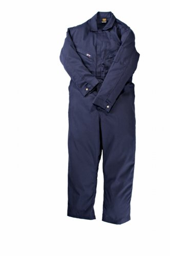 - LAPCO CVFRD7NY-2XL XT Lightweight 100-Percent Cotton Flame Resistant Deluxe Coverall, Navy, 2X-Large, Extra Tall