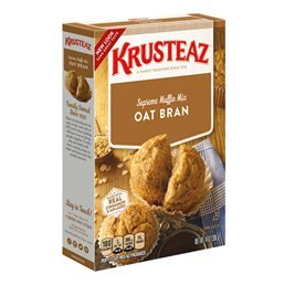 Oat Bran Pancake Mix - Krusteaz Oat Bran Muffin Mix 14 oz (Pack of 4)