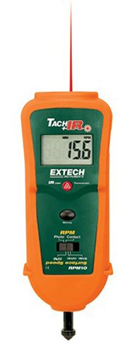 Extech RPM10 Combination Tachometer with Infrared Thermometer - Stud Finders And Scanning Tools - Amazon.com