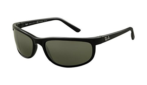 Ray-Ban Predator 2 Sunglasses Rb2027 601/W1 Black Crystal Mirror - Ray Ban 2