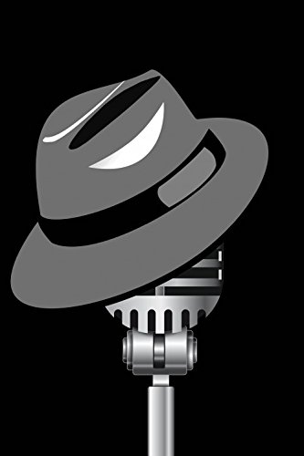 1art1 Posters: Music Poster Art Print - Fedora Hat and Microphone (47 x 31 inches)