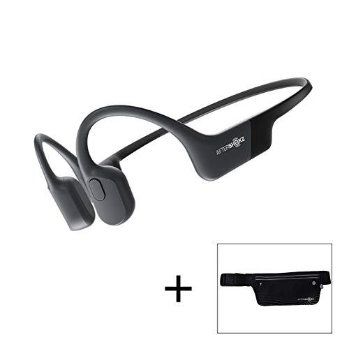 AfterShokz Aeropex – Open-Ear Bluetooth Bone Conduction Sport Headphones – Sweat Resistant Wireless Earphones for…