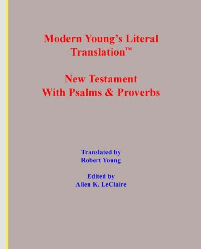 Modern Young's Literal Translation New Testament
