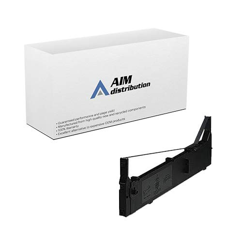 AIM Compatible Replacement for PrintMaster IP-487-US Black Printer Ribbons (6/PK) - Compatible to 8766 - -