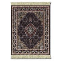 Lextra Midnight Persian MouseRug, 10.25 x 7.125 Inches, Dark Navy and Cream, One (Cmp Edge)