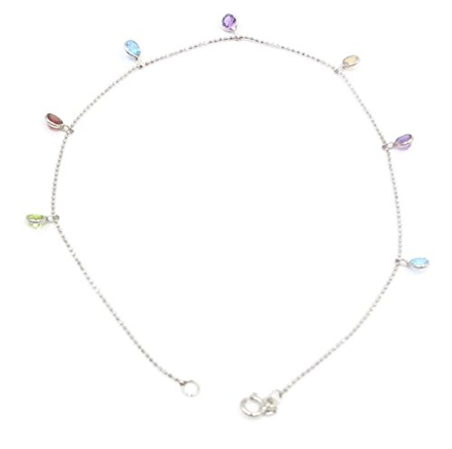 Sophia Fine Jewelry Multi-Color Gemstone Charm 10