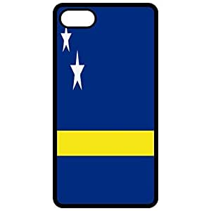 Curacao Flag - Black Apple Iphone 6 (4.7 Inch) Cell Phone Case - Cover