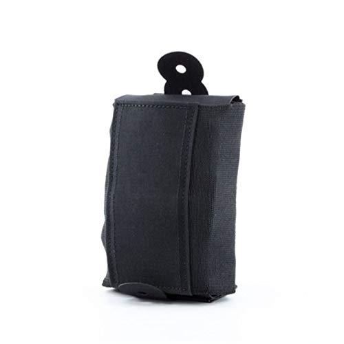 Rigid TQ Tourniquet Case for Generation 7 C-A-T Tourniquet, Belt (Tek-Lok) Attachment, Black with Orange Cross. (Tourniquet Not Included)