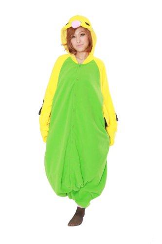 Budgie Kigurumi - Adults Costume (Green)