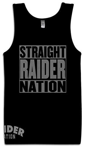 - Straight Raider Nation Nation Black Tank TOP (Limited Edition) (3X-Large)