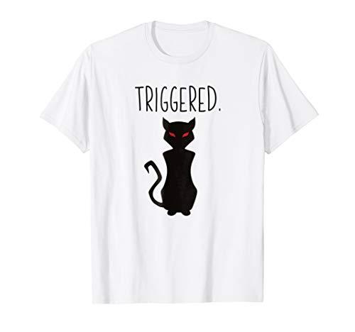 Triggered Cat Meme Shirt - Best Halloween Costume Gift