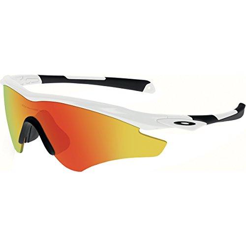 4d9ba655392 Oakley Men s (a) M2 Frame XL OO9345-04 Non-Polarized Iridium Shield  Sunglasses