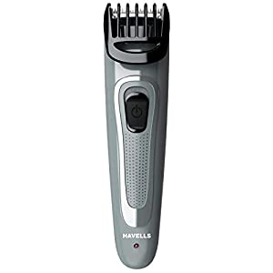 Havells BT5100C Micro USB rechargeable Beard & Moustache Trimmer with hypoallergenic stainless steel blades allows Zero…