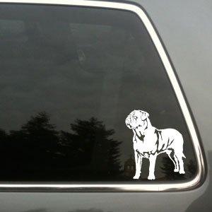 Dogue de Bordeaux vinyl decal - De Bordeaux Dogue Sticker