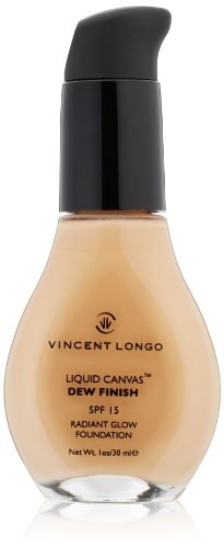 Vincent Longo Liquid - VINCENT LONGO Liquid Canvas Dew Finish Foundation SPF 15, Warm Beige, 1 oz.
