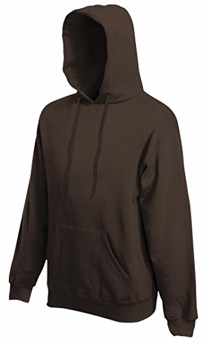 Fruit of the Loom - Sweat-shirt -  Homme -  Marron - Chocolat - XXL