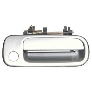 Motorking 6921032091C1 92-96 Toyota Camry Silver 176 Replacement Passenger Side Outside Door Handle 92 93 94 95 96