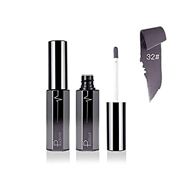 8229ff5f3950 White Liquid Lipstick Makeup Lip Gloss Purple Grey Matte
