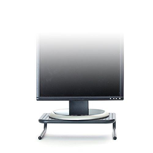 Mind Reader Metal Monitor Stand, Monitor Riser for Computer, Laptop, Desk, iMac, (Used Metal Desk)