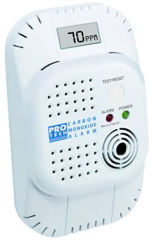 ProTech 7035 Lithium Battery Powered Carbon Monoxide Detector with Digital Display and Memory