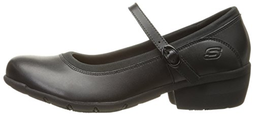 Skechers for Work Women's Toler Slip Resistant Shoe, Black, 8.5 B(M) US by Skechers (Image #5)
