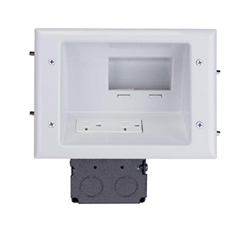 DataComm Electronics 45 0072 WH Commercial Receptacle product image