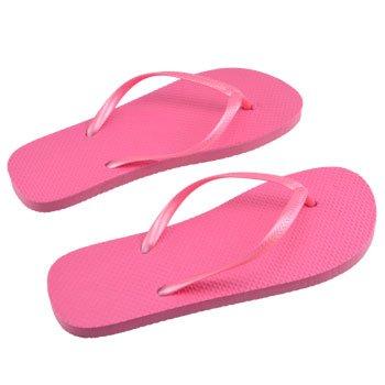 Pink Flip Flops Cubic Zerconia Bracelet Bundle