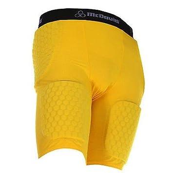 df316e7d319 Amazon.com : McDavid Mens Thudd Football Compression Shorts 757T ...