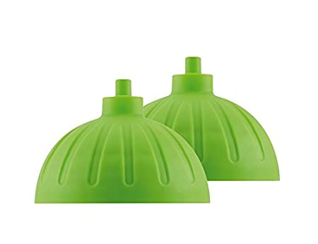 BPA-frei, sp/ülmaschinengeeignet, geruchs- und geschmacksneutral Zwei St/ück ISYbe Ersatzdeckel