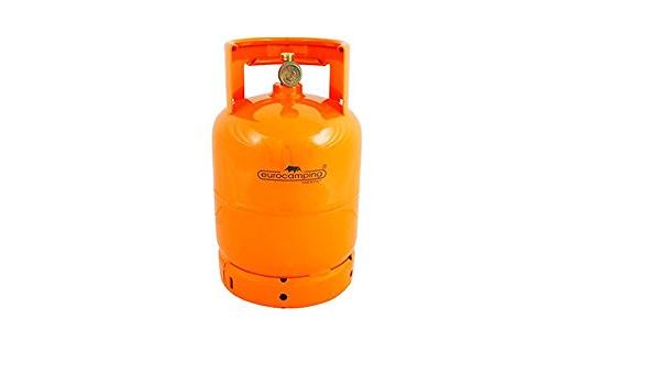 UNIVERSALE Bombona para gas de 3 kg vacía: Amazon.es ...