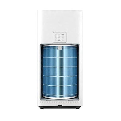 Filtro purificador de aire azul Eliminar filtro de suciedad ...