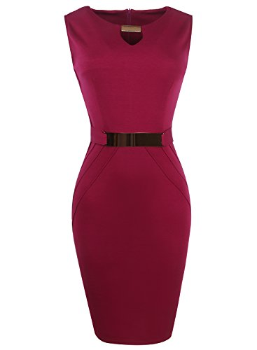 Oxiuly Sequined Sleeveless Bodycon Stretch product image