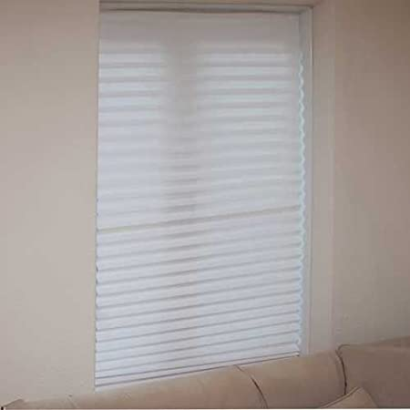 Set of 3 White Blinds in a Box. Instant Blackout Blinds that require ...