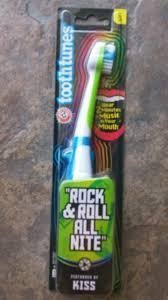 Tooth Tunes Toothbrush Rock and Roll All Night by KISS (Nite) by Tooth Tunes