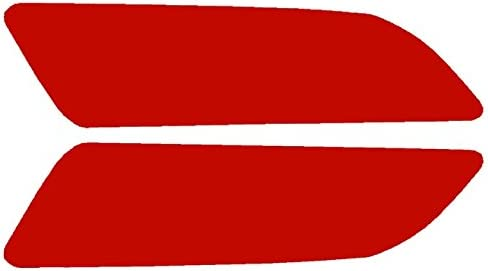 Red SlickMod Precut Vinyl Tint Cover for 2013-2015 Honda Accord Coupe Turn Signal