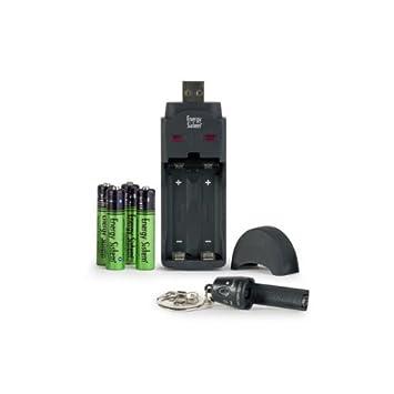 Energy Sistem NNatura Neobat - Cargador USB (incluye 4 ...