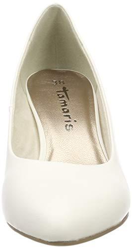 white Blanc Matt Femme 22416 Tamaris Escarpins 108 21 WncqXW671x