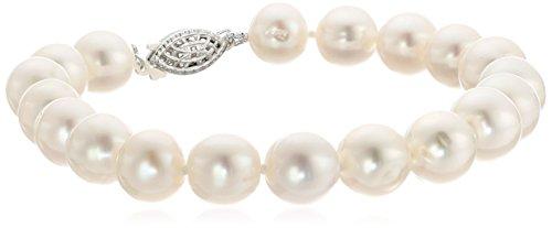Bella Pearl White Freshwater Pearl Tennis Bracelet