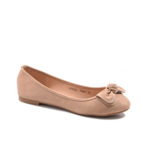 Shoes Various Colours Flats 3HTW SexY Leisure Women's Trainers Khaki 6523 Jumex Ballet nvzwzqSY