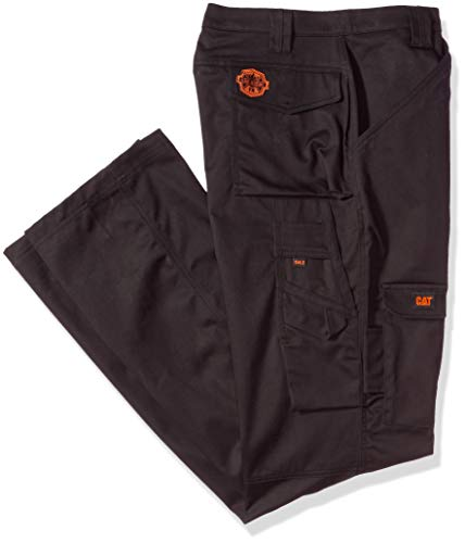 - Caterpillar Men's Big and Tall Flame Resistant Cargo Pants (Regular and Big & Tall Sizes), fr Black, 34W x 36L