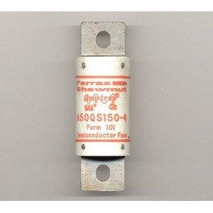 Ferraz Shawmut A50QS150-4 Amp-Trap Semiconductor Protection Fuse 150 Amp 500 Volt AC/DC - Ferraz Semiconductor Fuses