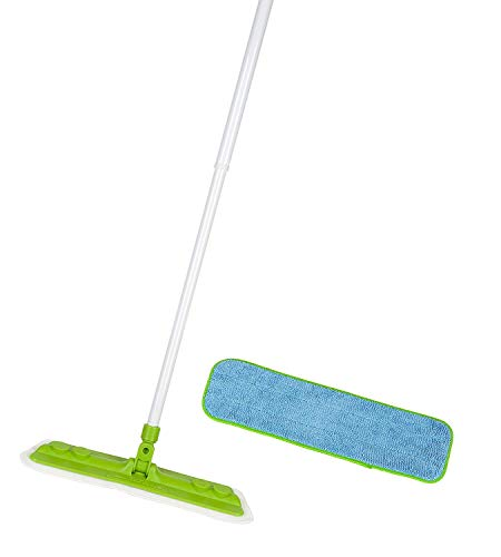 Starfiber Starpro Microfiber Mop and Microfiber Pad Kit 2013 Version Green Trim Pad