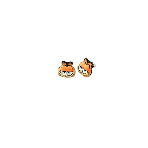 Garfield Logo Superhero Comics Cartoon Post Stud Earrings In Gift -