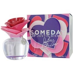 Someday By Justin Bieber Eau De Parfum Spray 3.4 Oz & Body Lotion 3.4 Oz & Parfum .25 Oz Mini Women
