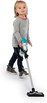 Spielzeug-Staubsauger Grau Wei/ß Smoby 7600330215 Rowenta Air Force Stiel Spielstaubsauger f/ür Kinder ab 3 Jahren Blau