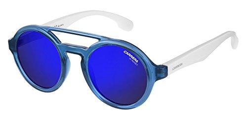 Sunglasses Carrera Carrerino 19 /S 0WWK White Blue Marble / XT blue sky miror lens - Kids - Sunglasses Carrera Cool
