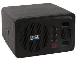 Anchor Audio, Black Speaker Monitor w/ Remote Control, AN-130RCBK+ ()