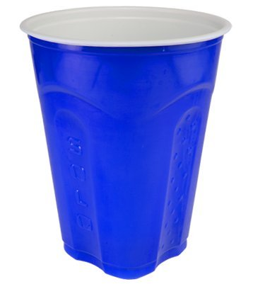 Solo Squared Cups, 18 Oz, Blue, 90 Count