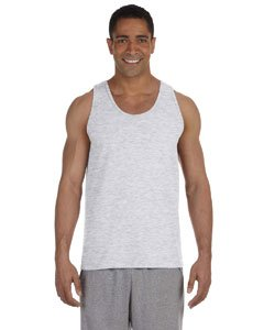 Adult Cotton Tank Top (Ash) (X-Large)